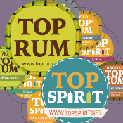 Aurélie FLAMMANG Founder of labels TOP SPIRIT and TOP RUM